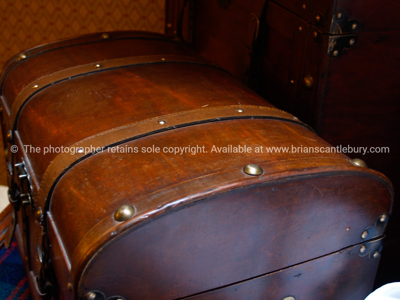 """Old Leather travel case, close-up. SEE ALSO:   <a href=""""http://www.blurb.com/b/893070-impressions-of-the-uk"""">http://www.blurb.com/b/893070-impressions-of-the-uk</a>"""