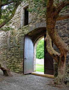 Courtyard Craigmillar Castle