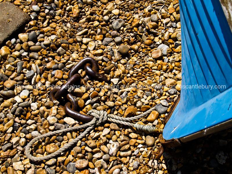 """Dinghy bow lying on beach, Brighton, England, Britain, United Kingdom. SEE ALSO:   <a href=""""http://www.blurb.com/b/893070-impressions-of-the-uk"""">http://www.blurb.com/b/893070-impressions-of-the-uk</a>"""