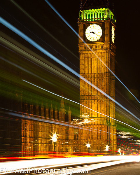 Big Ben Moving Fast