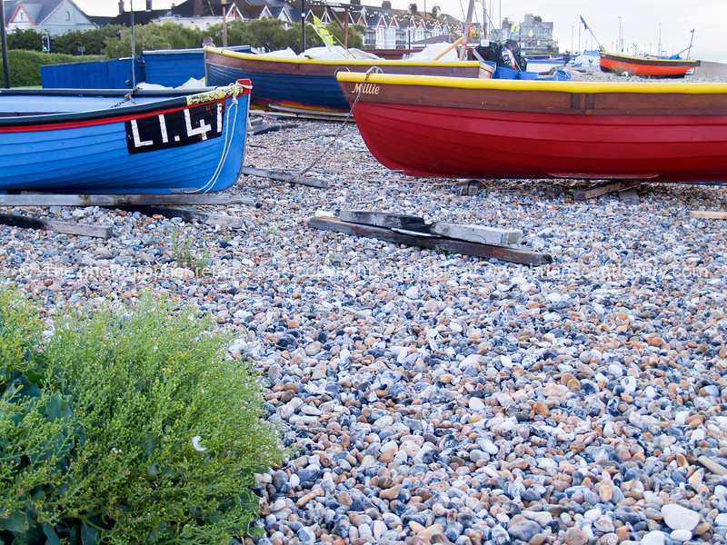 """Fishing boats lying ldle, Worthing, England, Britain, United Kingdom. SEE ALSO:   <a href=""""http://www.blurb.com/b/893070-impressions-of-the-uk"""">http://www.blurb.com/b/893070-impressions-of-the-uk</a>"""