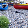 "Fishing boats lying ldle, Worthing, England, Britain, United Kingdom. SEE ALSO:   <a href=""http://www.blurb.com/b/893070-impressions-of-the-uk"">http://www.blurb.com/b/893070-impressions-of-the-uk</a>"
