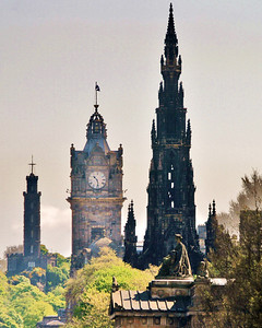 Towers of Edinburgh