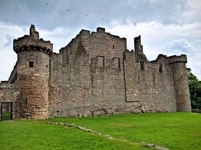 Exterior of Craigmillar Castle