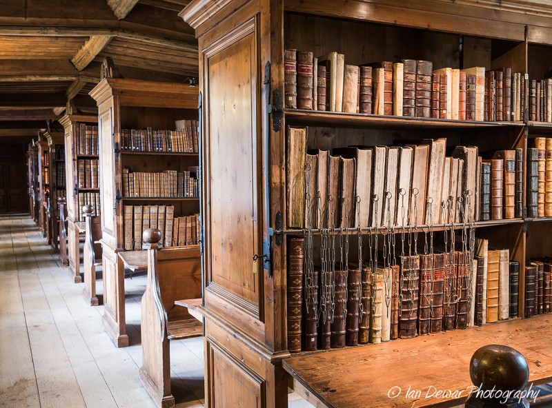 The Chained Library at Wells Cathedral