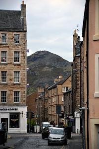 A view of Arthur's Seat in Edinburgh