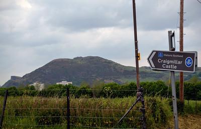 Arthur's Seat from Craigmillar Castle