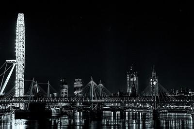 Big Eye and Big Ben  London, England.