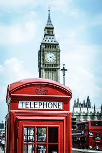 Quintessential London  Westminster, London, England.
