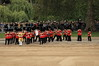 Band of the Welsh Guards march on to Horse Guards Parade