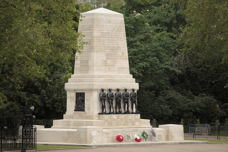 Guards Division Memorial on Horse Guards Parade