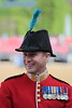 "Capt. DD Johnstone of the Irish Guards ~ ""Trooping the Colour"""
