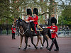 Grenadier Guards along the Mall during the State Opening for Parliament.<br /> <br /> Image by Martin McKenzie ~ All Rights Reserved