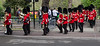 "The Band of the Scots Guards, making their way though St. James Park onto ""Birdcage Walk"" as they head back to  Wellington Barracks.<br /> <br /> Image by Martin McKenzie ~ All Rights Reserved"