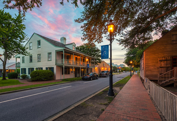 East Zaragossa Street in Historic Downtown Pensacola