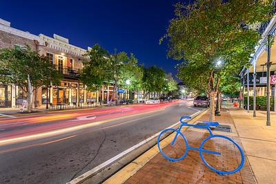 Downtown Pensacola Florida Palafox Street