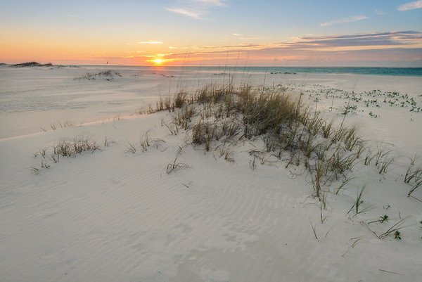 Sunrise From Gulf Islands National Seashore
