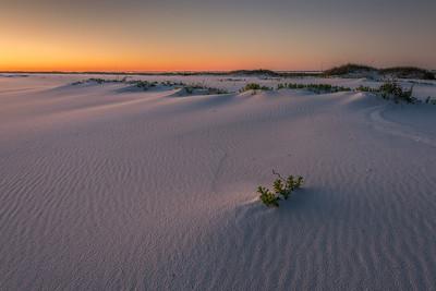 Sunset on Gulf Island National Seashore