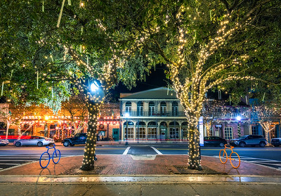 Downtown Pensacola Christmas Lights