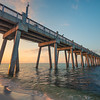 Pensacola Pier Sunrise Colors