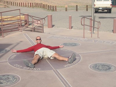 Four Corners Monument, Arizona, Utah, New Mexico, Colorado, October 19, 2004