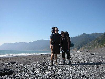Lost Coast, California  July 13-14, 2004