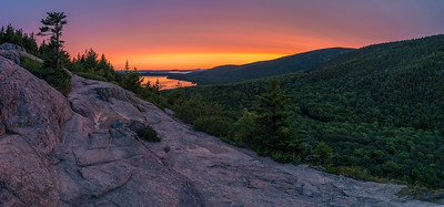 South Bubble Sunrise Panorama