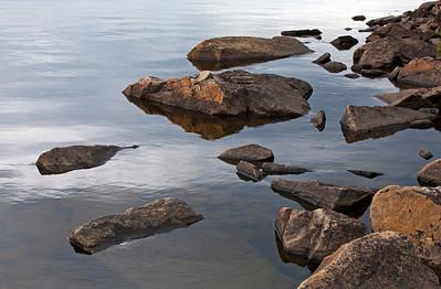 Rocky Shore Seagull Lake _1350