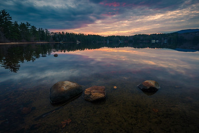 Lakes Region Sunset
