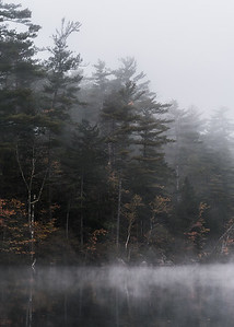 Fog and Mist on Lake Chocorua
