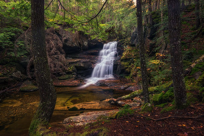 Coldbrook Falls In Autumn