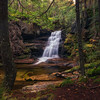 Coldbrook Falls In Autumn
