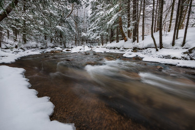 White Mountain Winter Stream