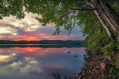 Late September Lakes Region Sunset