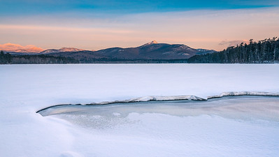 Ice Morning On Lake Chocorua