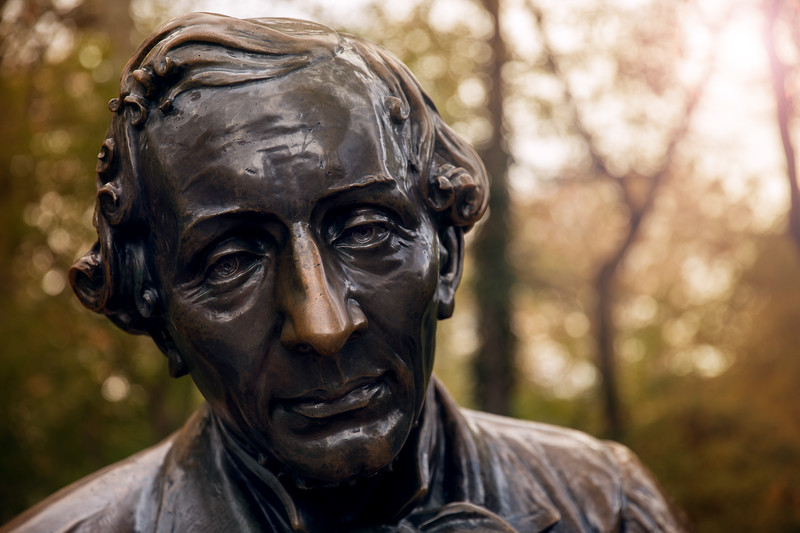 Statue of Hans Christian Anderson in Central Park