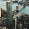 New York Skyline Including Brooklyn Bridge & Manhattan Bridge