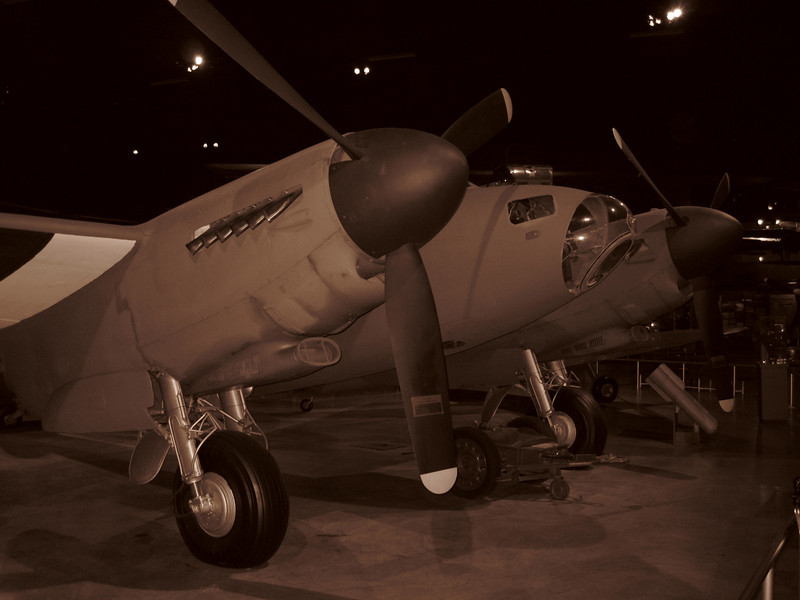 De Havilland DH 98 Mosquito at the National Museum of the United States Air Force