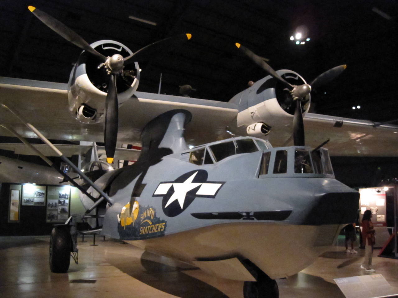 OA-10 Catalina at the National Museum of the United States Air Force