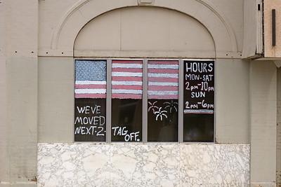 cherokee ok american flag_5974
