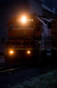 Willamette & Pacific Engine #2313 Evening_1530