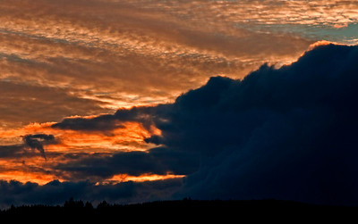 End of Summer Sunset Clouds_1613