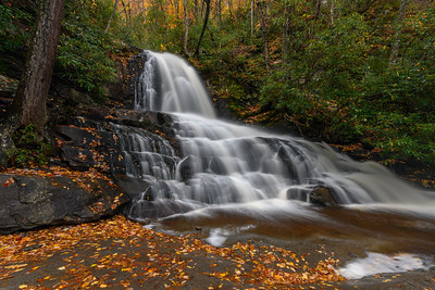 Laurel Falls In The Great Smoky Mountains