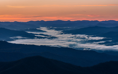 Valley Fog In The Great Smoky Mountains