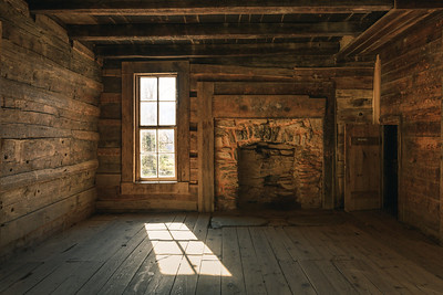 Afternoon Sunlight At Oliver Cabin