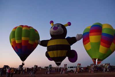 Hot Air Balloons at Cadillac Ranch Amarillo TX_3006