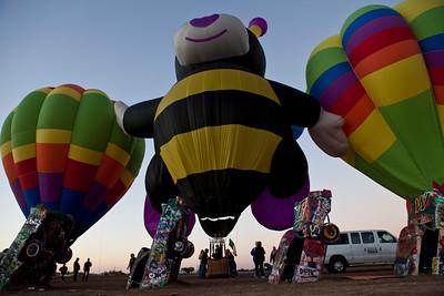 Hot Air Balloons at Cadillac Ranch Amarillo TX_2989
