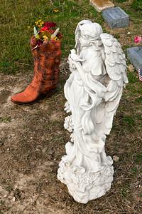 Cowboy Boot Memorial Hogeye Celeste Cemetary TX_3129
