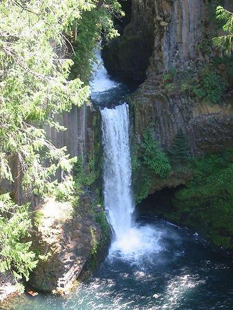 Tokeete Falls, Oregon July 15, 2004
