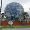 Gas tank painted like globe. https://savannahagenda.com/doomsday-nears-for-savannahs-globe/